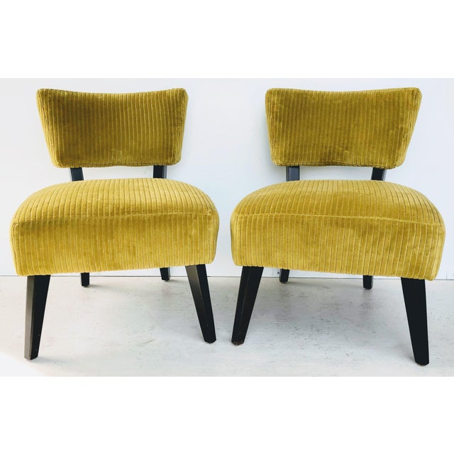 Lee Industries Chairs- A Pair For Sale - Image 12 of 12