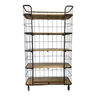 Interlude Home Industrial Modern Palermo Shelves For Sale