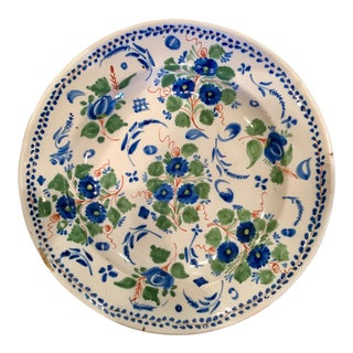 17th Century Spanish Delft Charger