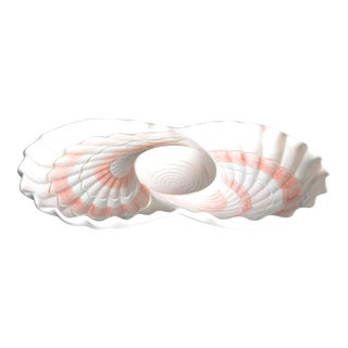 Fritz and Floyd Seashell Serving Platter For Sale