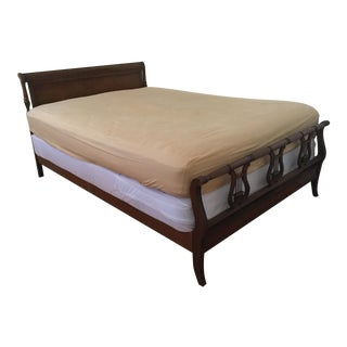 Drexel Mid-Century 1953 Traditional Mahogany Full/Queen Bed