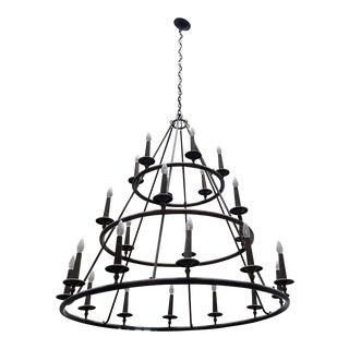 Quoizel Voyager 24 Light Chandelier For Sale