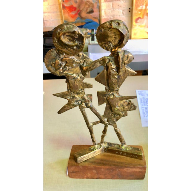 Mid-Century Modern Bronze Sculpture by Abbot Pattison For Sale - Image 3 of 6