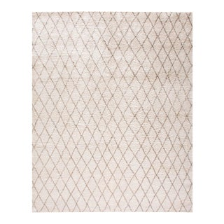 Contemporary Moroccan Rug - 10'× 14'