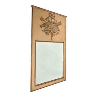 Mid Century Italian Harvest Mirror For Sale