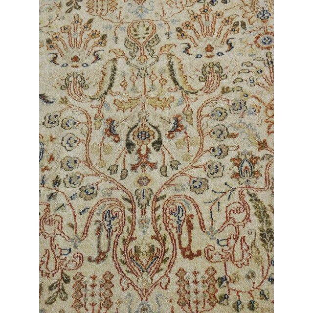 Indian Hand-Knotted Rug - 6' x 9' For Sale In Los Angeles - Image 6 of 10