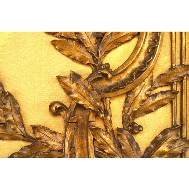 19th Century French Louis XV Style '19th Century' Gilt Carved Duet Music Stand For Sale - Image 5 of 7