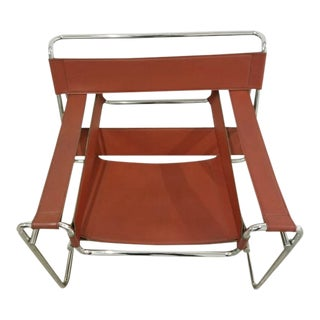 1960s Vintage Knoll Wassily Style Chair For Sale