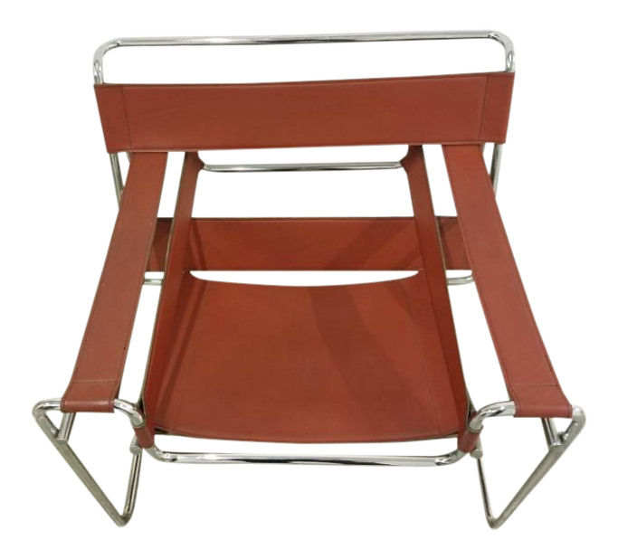 1960s Vintage Knoll Wassily Style Chair