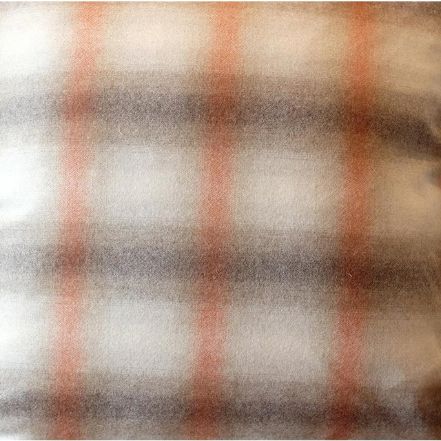 Duralee Highland Court English Wool Plaid Pillow Cover For Sale - Image 4 of 5