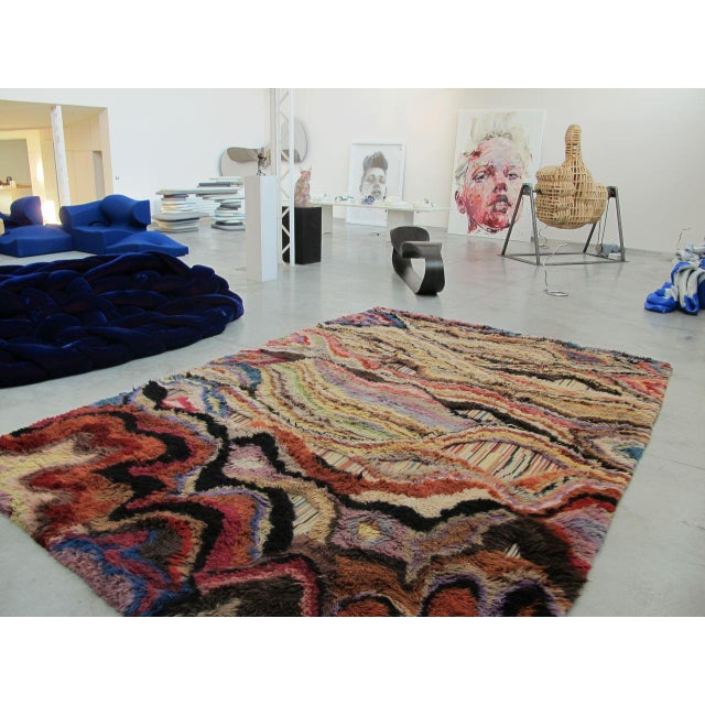 """Not Yet Made - Made To Order Boccara Hand Knotted Artistic Rug - """"Amazonia"""" For Sale - Image 5 of 7"""