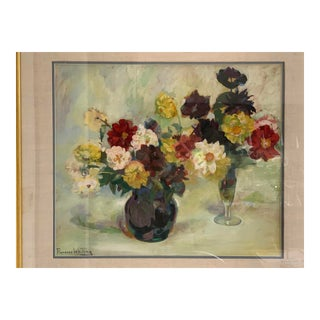 1930s Still Life by Florence Whiting For Sale