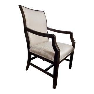 Henredon Jeffrey Bilhuber Mahogany Dining Arm Chair For Sale