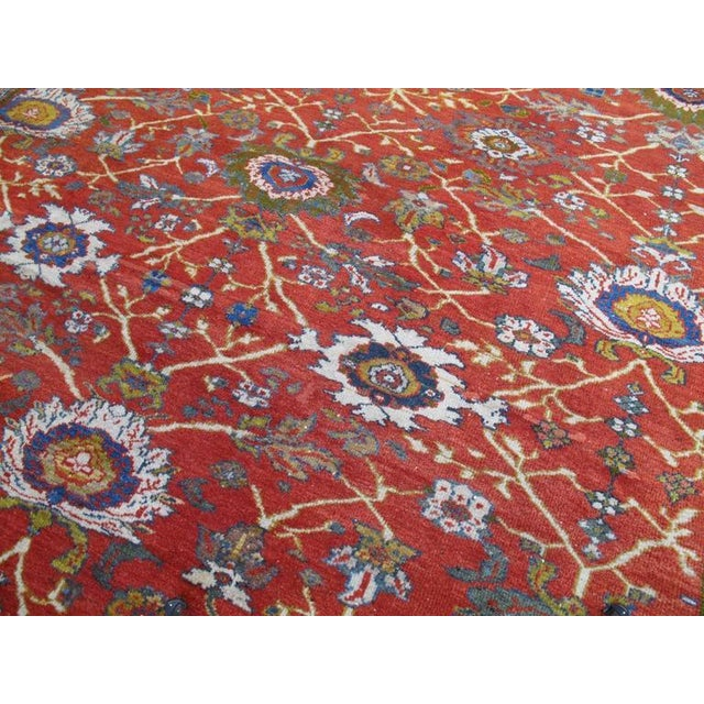 Fantastic Antique Sultanabad Carpet For Sale - Image 4 of 10