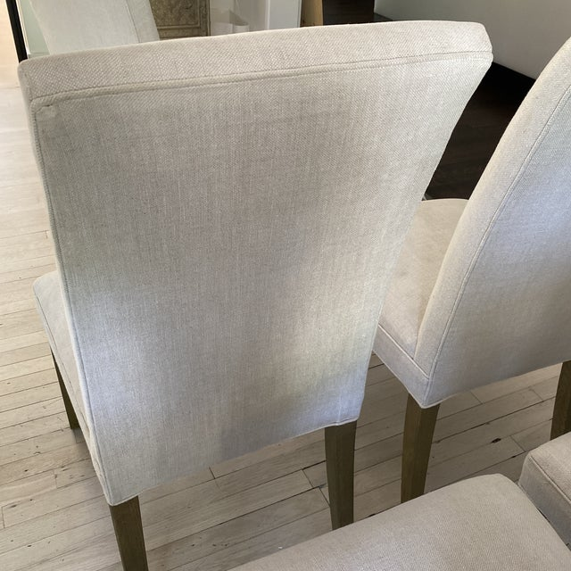 Wood Restoration Hardware Hudson Chairs, S/10 For Sale - Image 7 of 9