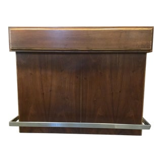 1960s Mid Century Modern Dry Bar by Lane Furniture For Sale
