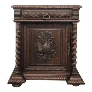 19th Century Renaissance Confiturier Cabinet For Sale
