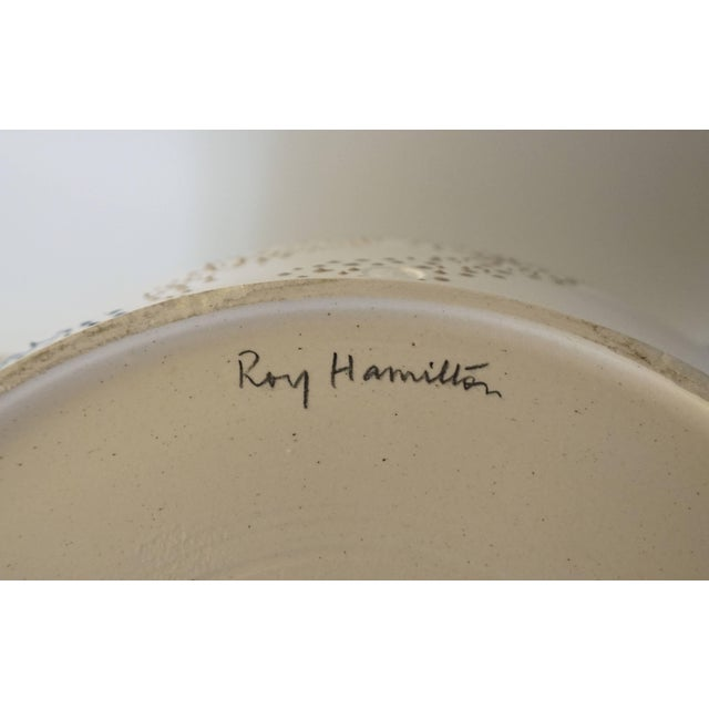 """Roy Hamilton """"Faux Marble"""" Bowl, Circa 1980 For Sale In New York - Image 6 of 9"""