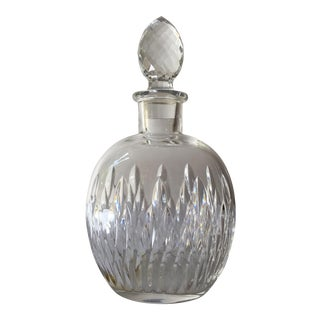 Baccarat Tiffany & Co. Crystal Wine Decanter For Sale