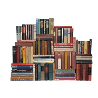 Curated World History Books - Set of 100 For Sale