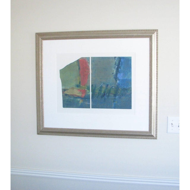 "Anne Raymond Anne Raymond ""Mountain Lake I"" Print For Sale - Image 4 of 9"