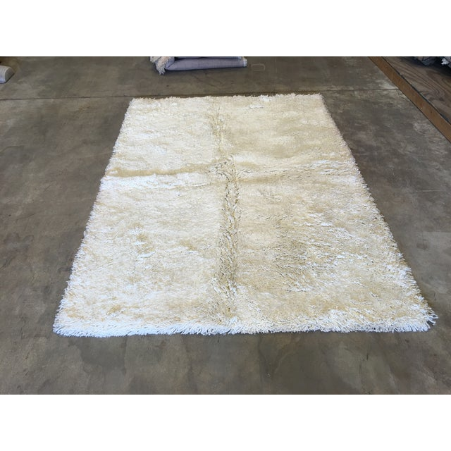 """Turkish Hand Knotted Wool Rug - 4'10"""" X 6'10"""" - Image 2 of 5"""