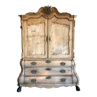 18th Century Dutch Armoire For Sale