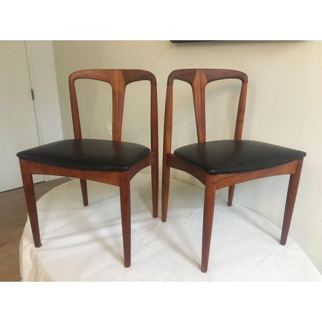 Teak Juliane Dining Chairs by Johannes Andersen - A Set of Two - Image 10 of 10