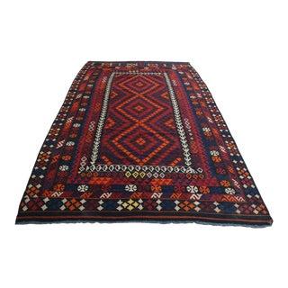 Afghan Tribal Maimana Kilim For Sale