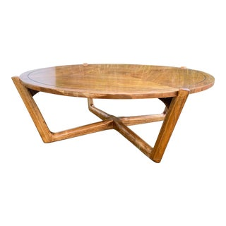 Lane 'Perception' Round Coffee Table For Sale