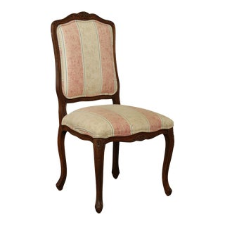 Ethan Allen French Louis XV Style Side Chair For Sale