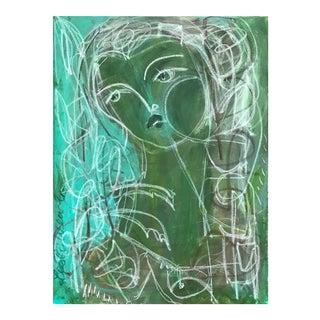 Greenery Figure by Leslie Weaver