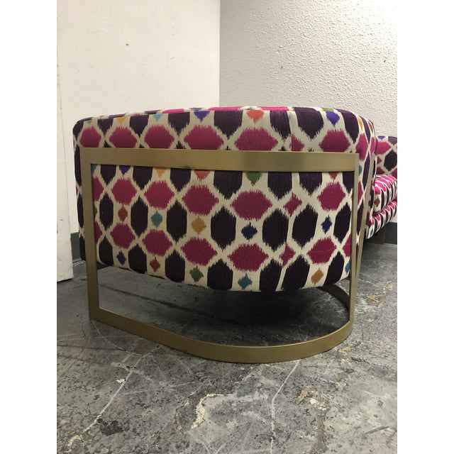 Nathan Anthony Korz Chair by Tina Nicole + Kravet Fabric - a Pair For Sale - Image 9 of 13