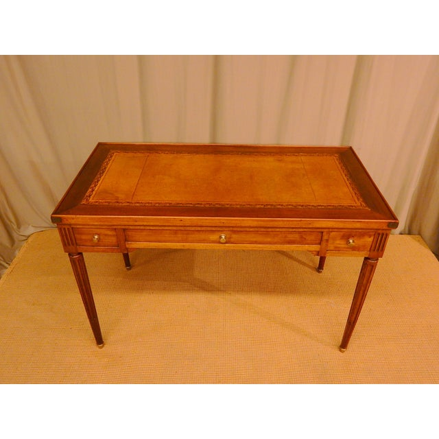 Early 19th Century 19th C French Louis XVI Style Game Table/Writing Desk For Sale - Image 5 of 8