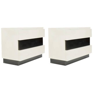 Dan Johnson for Hayden Hall Chest of Drawers -A Pair For Sale