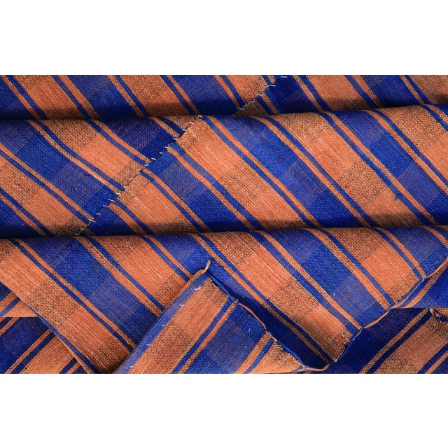 Turkish Vintage Stripes Handmade Flatweave Rug - 5′1″ × 7′7″ - Image 3 of 3
