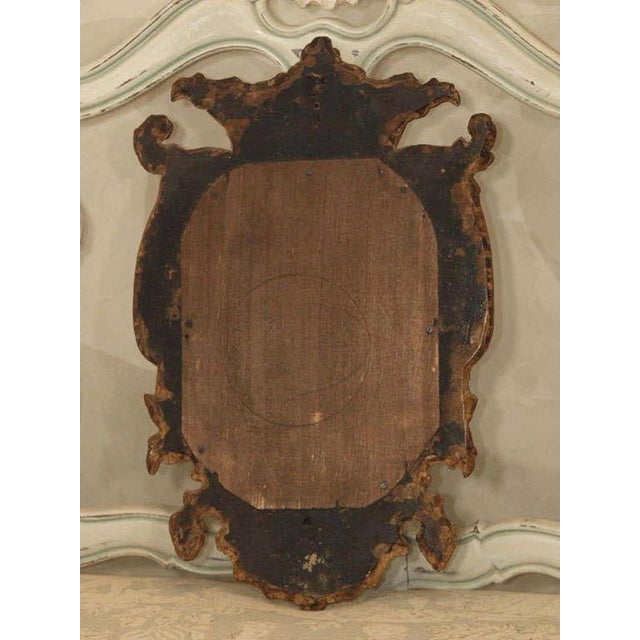 Gold Pair of Italian Gilt Mirrors For Sale - Image 8 of 8