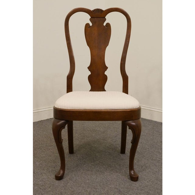 Late 20th Century Vintage Pennsylvania House Queen Anne Style Dining Chair For Sale - Image 11 of 11