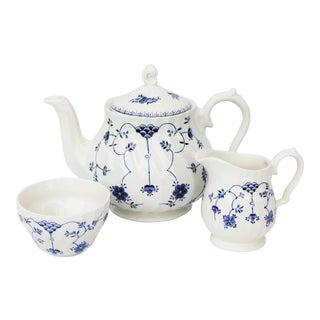 Vintage English Churchill Tea Set - 3 Pieces For Sale