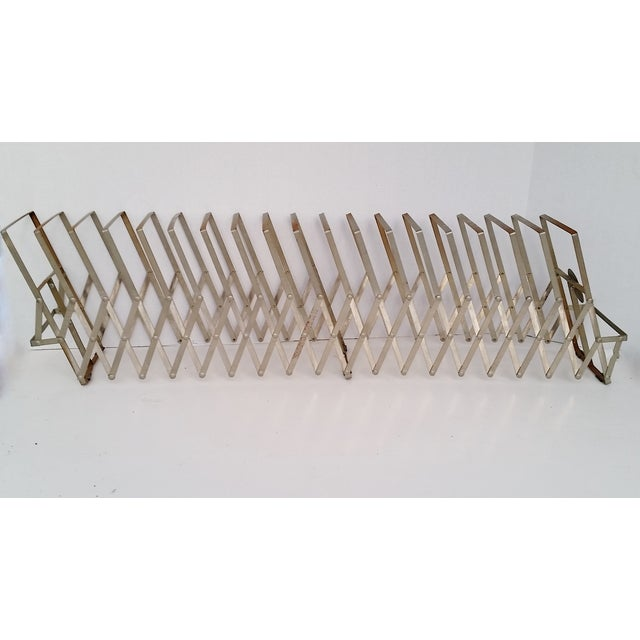 Vintage Metal Expandable Desktop File Holder - Image 6 of 6