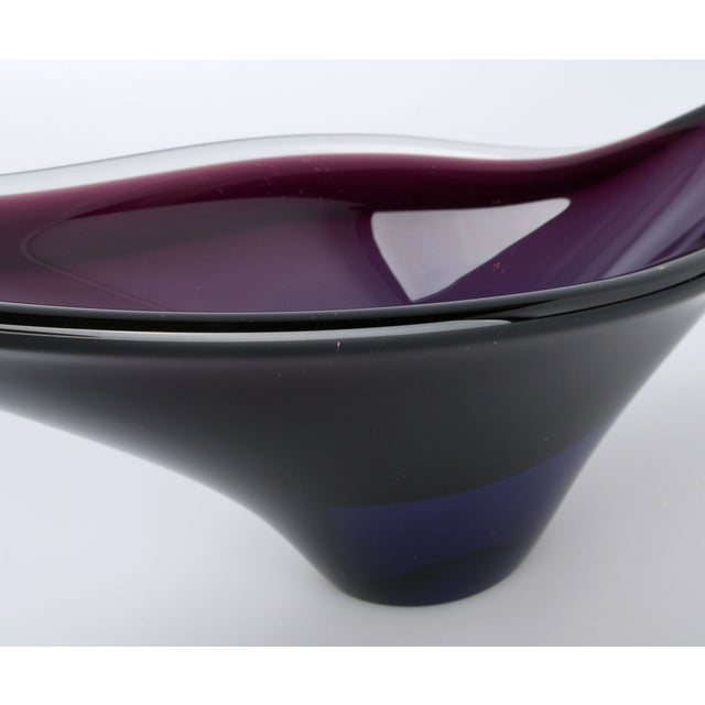 Handblown Murano Glass Fish-Shape Bowl For Sale In Miami - Image 6 of 9