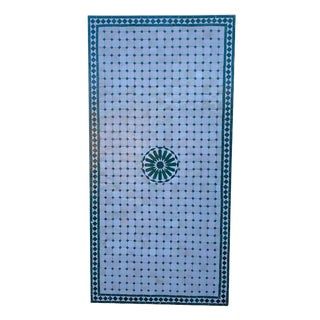 Rectangular Moroccan Mosaic Dining Table For Sale
