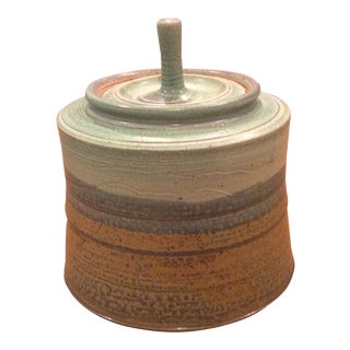 Mid-Century Lidded Vessel For Sale