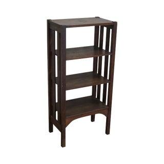 Antique Mission Oak Stickley Era Bookstand Bookcase For Sale