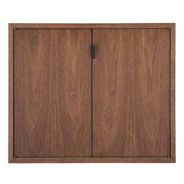 Florence Knoll Wall-Mounted Cabinet For Sale