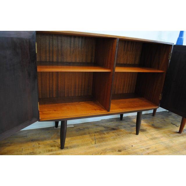 Danish Modern Rosewood 2 Door Cabinet - Image 5 of 10