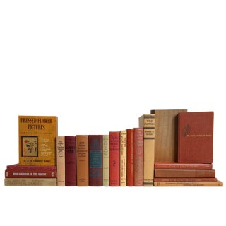 A Fall Gardener's Book Set, S/20 For Sale