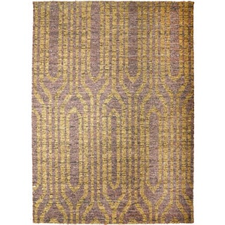 "Modern Flat Weave Rug - 8' X 10'5"" For Sale"
