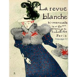 1966 Mourlot Toulouse Lautrec La Revue Blanche Lithograph 17 For Sale