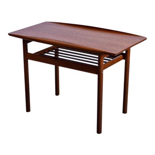 1960s Danish Modern Grete Jalk End Table For Sale